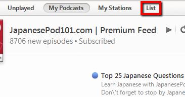 Basic and Premium iTunes Podcast Feeds - JapanesePod101