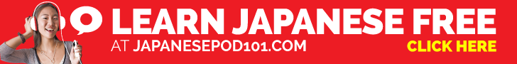 Click here to learn Japanese with JapanesePod101