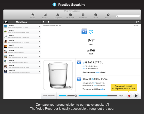 WordPower Japanese for the Mac